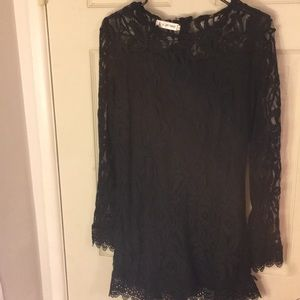 Other - Black Lace Romper